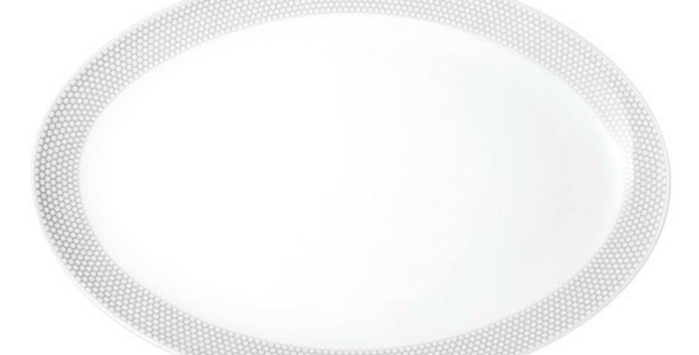 Porcelain Oval Serving Platter