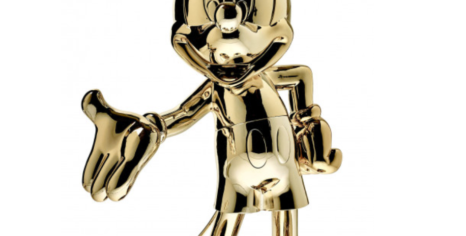 MICKEY WELCOME IN GOLD