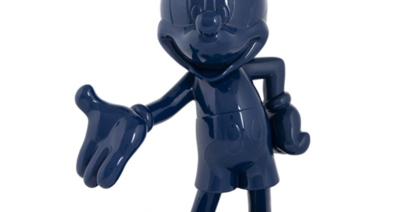 MICKEY WELCOME GLOSSY BLUE