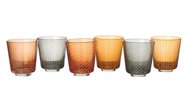 TUMBLER GLASS LIBRARY SET