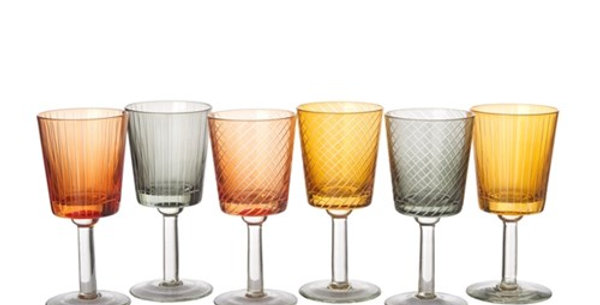 WINE GLASS LIBRARY SET