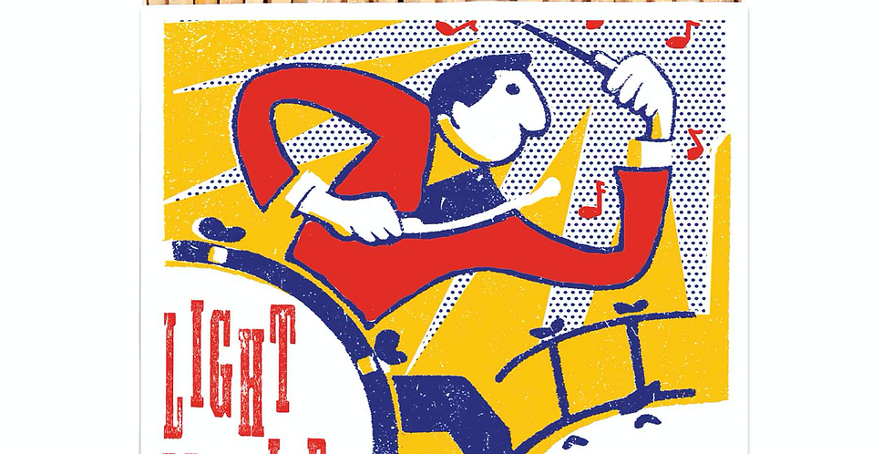 BRIGHT DRUMMER MATCHBOX