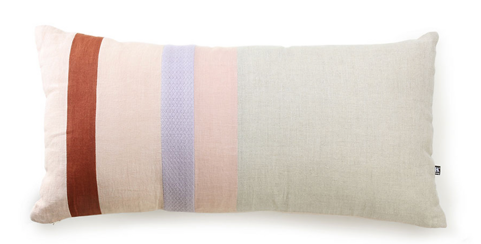 LINEN STRIPED CUSHION B