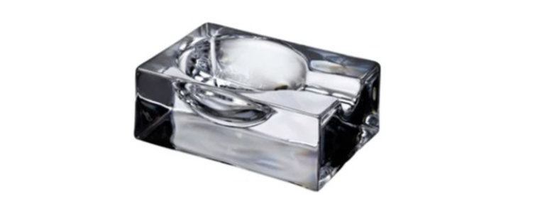 FUMO CIGAR ASHTRAY CLEAR