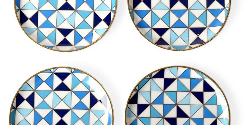 SORRENTO COASTERS- BLUE