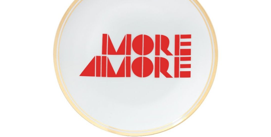 MORE AMORE PLATE