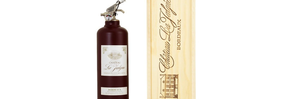 WINE WITH WOODEN BOX BORDEAUX
