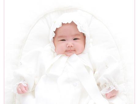 赤ちゃん お宮参り