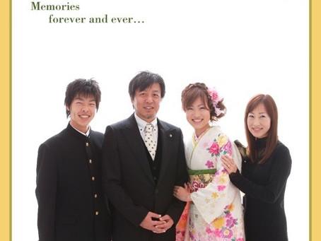 久しぶりの家族写真