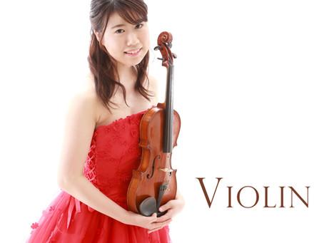 プロフィールフォト〜ヴァイオリン♪〜