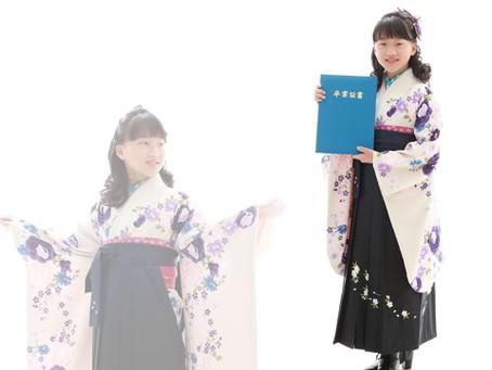 小学生★卒業袴も人気です!