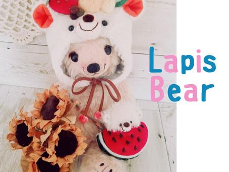 LAPIS BEAR展 開催中!