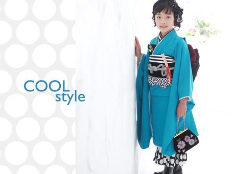 753新作衣裳〜 Cool and Girly coordinates〜
