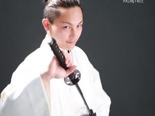 紋付袴&スーツで成人記念
