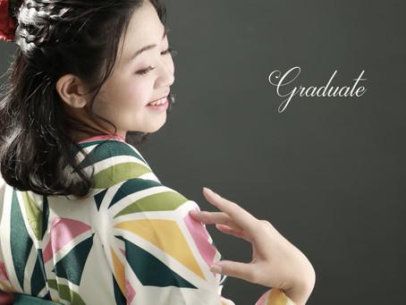 卒業袴 前撮り撮影