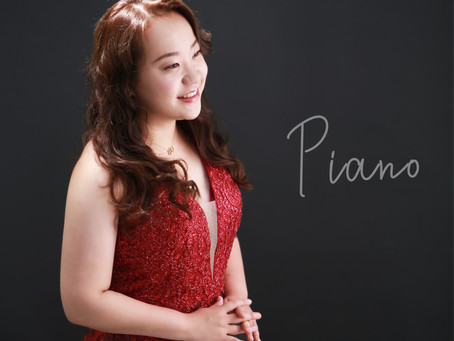 プロフィールフォト〜ピアノ♪〜