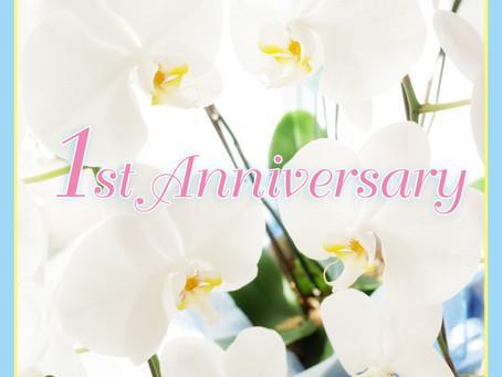 1st. Anniversary は 成人振り袖撮影!