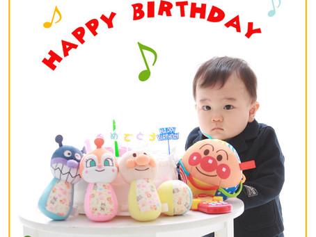 パパ大好き♡1歳お誕生日♪