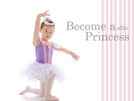 「プリンセスになりたい!」憧れのバレリーナに大変身!