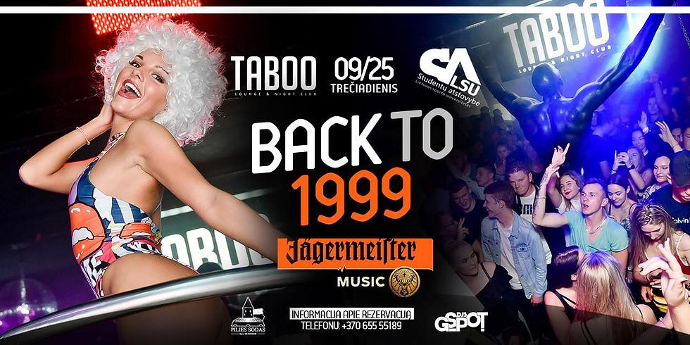 Back to 1999 | LSU SA 20 - asis gimtadienis