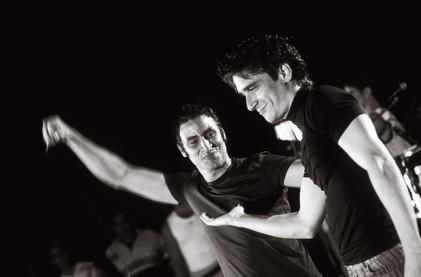 Nassiry Ludo and David Blanco      2003