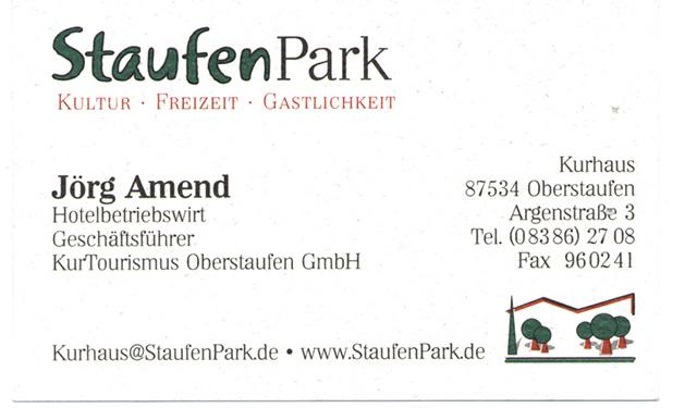 Kurhaus Staufenpark