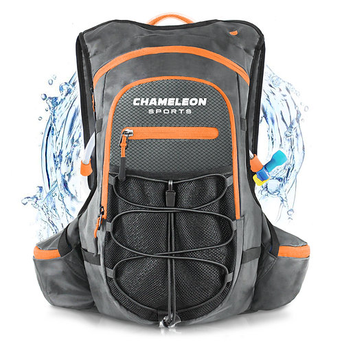 AquaTitan 5500 Hydration Backpack - Grey