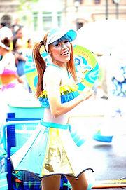 名古屋テーマパークダンサー