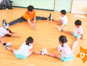 こども園でダンス教室開講☆ひっぽ