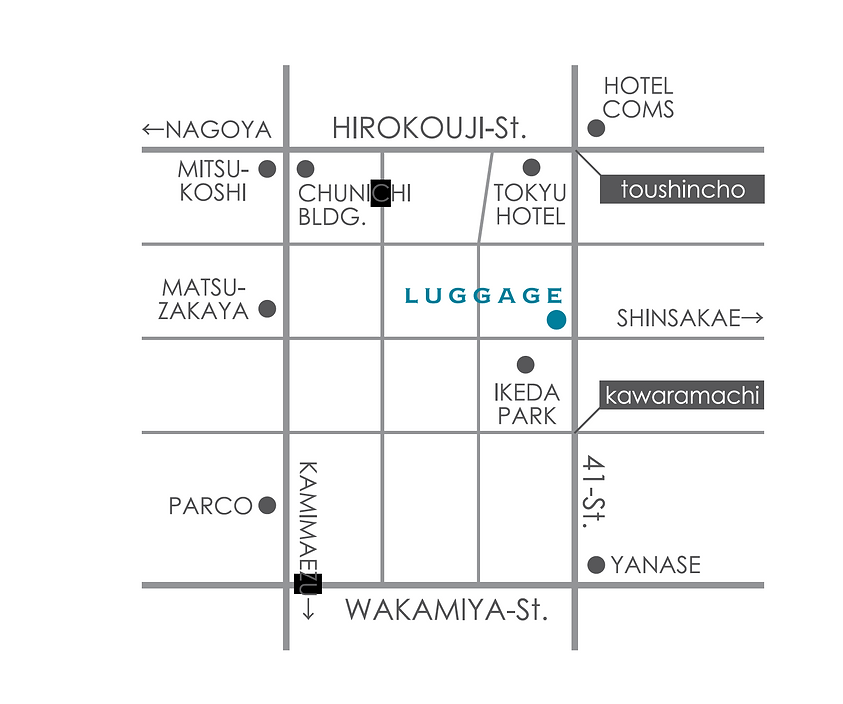 LUGGAGE MAP