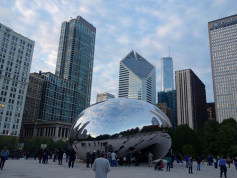 Exploring the Windy City!