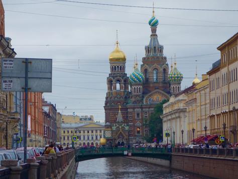 A Weekend in St. Petersburg, Russia