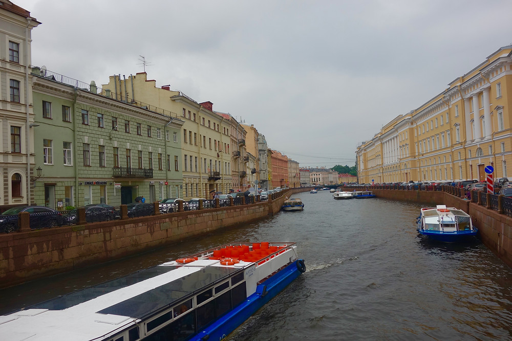 St.Petersburg is known as the Venice of Russia because of its various canals that run through the city