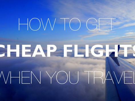 Tips On Finding Cheap Airfare