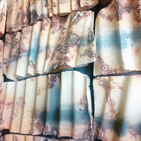 Ceramic Tiles fired with seaweed #interi