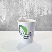 kaffebeger PLA med logo trykk