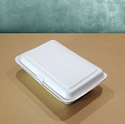 bagasse emballasje varmmatboks