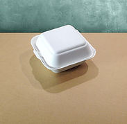 bagasse emballasje burgerboks
