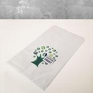 papirpose bakeri med trykk