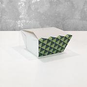 take out emballasje med trykk Foldpack