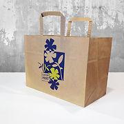bærepose papir med logo trykk