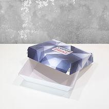 fast food emballasje i bølgepapp