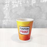 kaffebeger med trykk