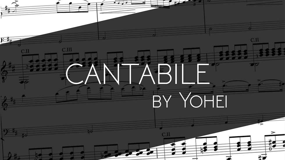 Cantabile by Yohei
