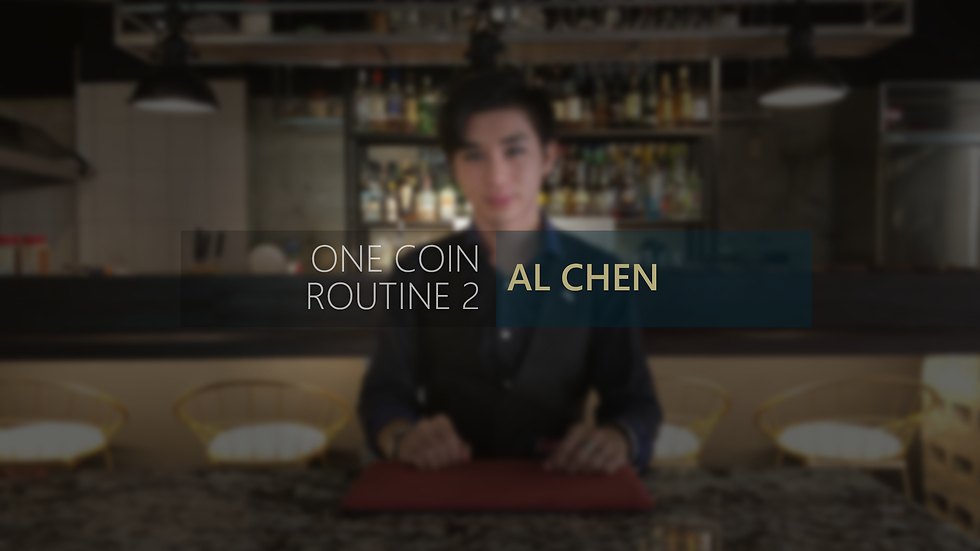 One Coin Routine 2 by AL Chen