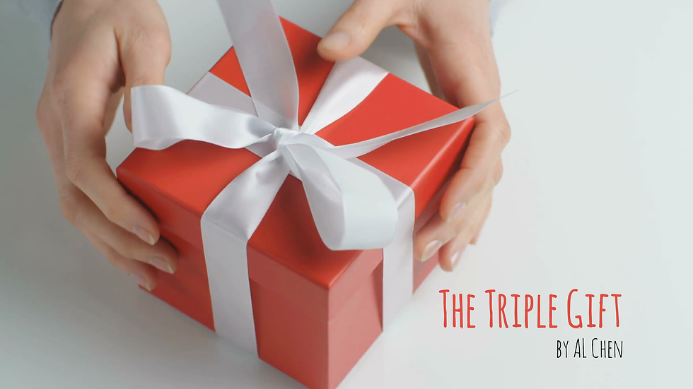 Triple Gift by AL Chen