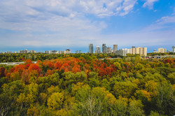 Don Valley hiking and biking trails