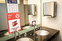 Touchless washrooms