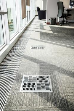 Healthier, more comfortable and environmentally conscious under floor air supply