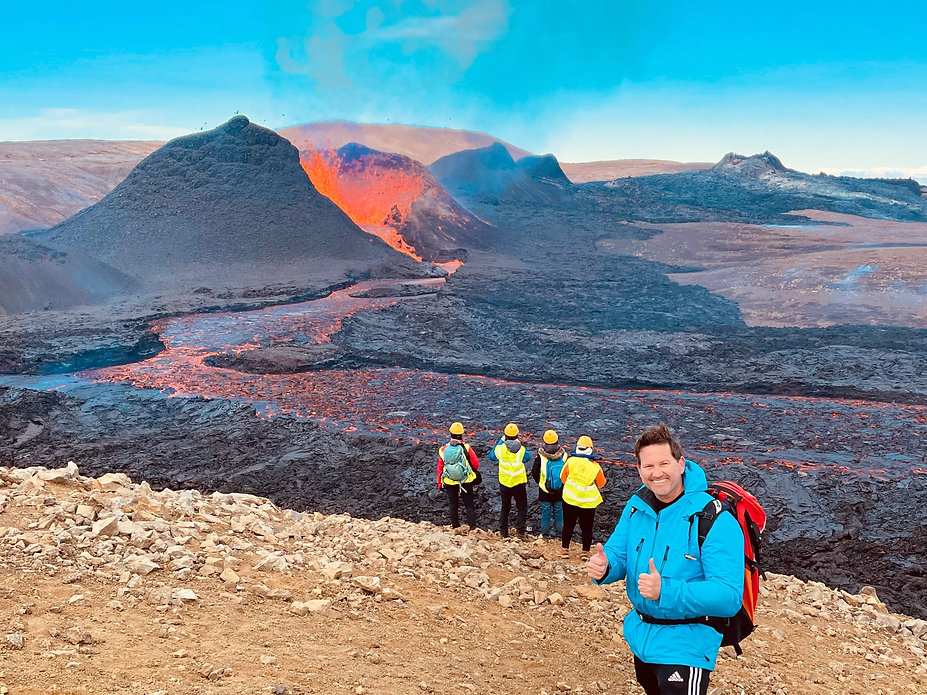 A guest from 2Go Iceland Travel on front